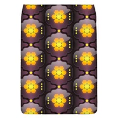 Pattern Background Yellow Bright Flap Covers (L)