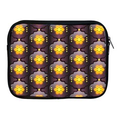 Pattern Background Yellow Bright Apple iPad 2/3/4 Zipper Cases
