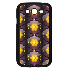 Pattern Background Yellow Bright Samsung Galaxy Grand DUOS I9082 Case (Black)