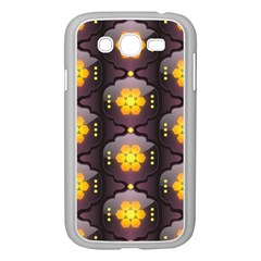 Pattern Background Yellow Bright Samsung Galaxy Grand DUOS I9082 Case (White)