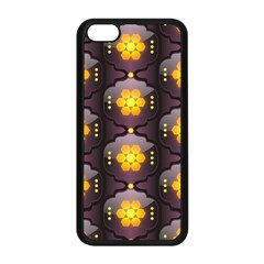 Pattern Background Yellow Bright Apple iPhone 5C Seamless Case (Black)