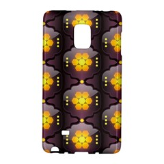 Pattern Background Yellow Bright Galaxy Note Edge by Sapixe