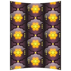 Pattern Background Yellow Bright Back Support Cushion