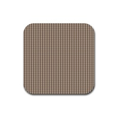 Pattern Background Stripes Karos Rubber Coaster (square)