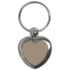 Pattern Background Stripes Karos Key Chains (heart)  by Sapixe