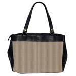 Pattern Background Stripes Karos Office Handbags (2 Sides)  Back