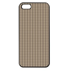 Pattern Background Stripes Karos Apple Iphone 5 Seamless Case (black)