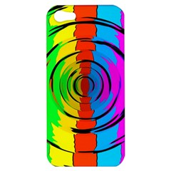 Pattern Colorful Glass Distortion Apple Iphone 5 Hardshell Case by Sapixe