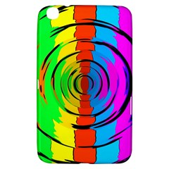 Pattern Colorful Glass Distortion Samsung Galaxy Tab 3 (8 ) T3100 Hardshell Case