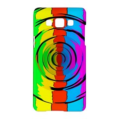 Pattern Colorful Glass Distortion Samsung Galaxy A5 Hardshell Case