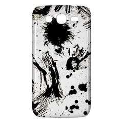 Pattern Color Painting Dab Black Samsung Galaxy Mega 5 8 I9152 Hardshell Case  by Sapixe