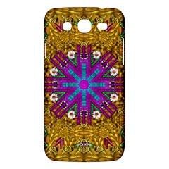 Golden Retro Medival Festive Fantasy Nature Samsung Galaxy Mega 5 8 I9152 Hardshell Case  by pepitasart