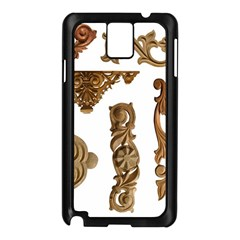 Pattern Motif Decor Samsung Galaxy Note 3 N9005 Case (black)