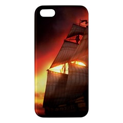 Pirate Ship Caribbean Iphone 5s/ Se Premium Hardshell Case by Sapixe