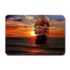 Pirate Ship Small Doormat