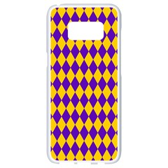 Real Jester Samsung Galaxy S8 White Seamless Case