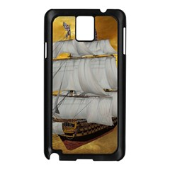 Pirate Ship Samsung Galaxy Note 3 N9005 Case (black)
