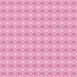 Pattern Pink Grid Pattern Magic Photo Cubes Side 4