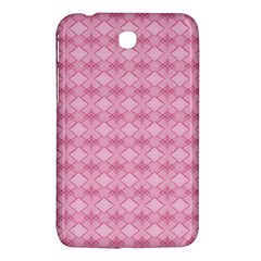 Pattern Pink Grid Pattern Samsung Galaxy Tab 3 (7 ) P3200 Hardshell Case  by Sapixe