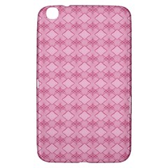 Pattern Pink Grid Pattern Samsung Galaxy Tab 3 (8 ) T3100 Hardshell Case  by Sapixe