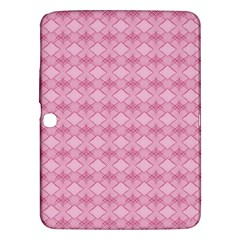 Pattern Pink Grid Pattern Samsung Galaxy Tab 3 (10 1 ) P5200 Hardshell Case  by Sapixe