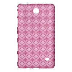 Pattern Pink Grid Pattern Samsung Galaxy Tab 4 (8 ) Hardshell Case  by Sapixe