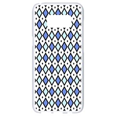 Blue Jess Samsung Galaxy S8 White Seamless Case by jumpercat