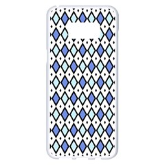 Blue Jess Samsung Galaxy S8 Plus White Seamless Case by jumpercat