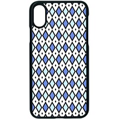 Blue Jess Apple Iphone X Seamless Case (black) by jumpercat