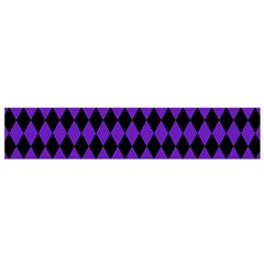 Jester Purple Small Flano Scarf by jumpercat