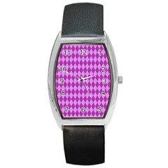 Pink Jess Barrel Style Metal Watch