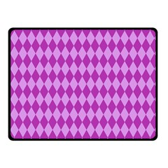 Pink Jess Double Sided Fleece Blanket (small)  by jumpercat