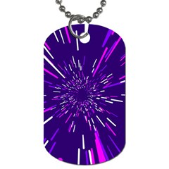 Space Trip 2 Dog Tag (two Sides)