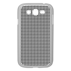 Triangulate Black And White Samsung Galaxy Grand Duos I9082 Case (white)