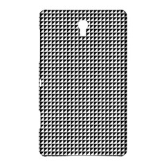 Triangulate Black And White Samsung Galaxy Tab S (8 4 ) Hardshell Case  by jumpercat