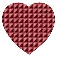 Red Triangulate Jigsaw Puzzle (heart) by jumpercat