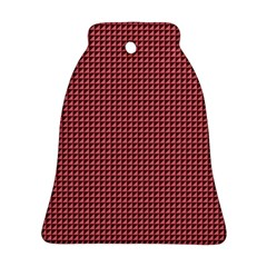 Red Triangulate Ornament (bell)