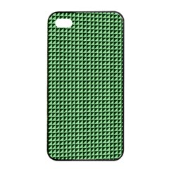 Green Triangulate Apple Iphone 4/4s Seamless Case (black) by jumpercat