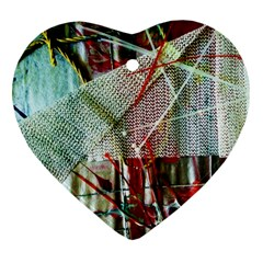 Hidden Strings Of Urity 10 Heart Ornament (two Sides) by bestdesignintheworld