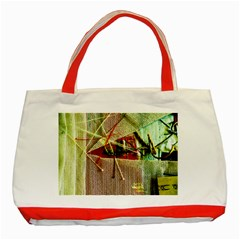 Hidden Strings Of Purity 12 Classic Tote Bag (red) by bestdesignintheworld