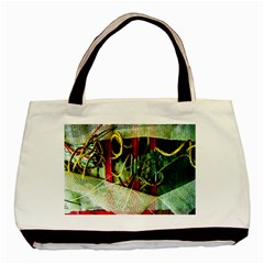 Hidden Strings Of Purity 13 Basic Tote Bag by bestdesignintheworld
