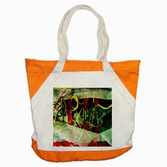Hidden Strings Of Purity 13 Accent Tote Bag by bestdesignintheworld