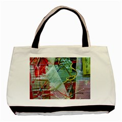 Hidde Strings Of Purity 2 Basic Tote Bag by bestdesignintheworld