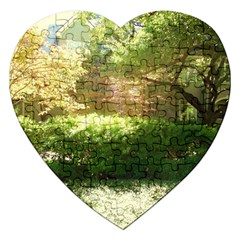 Highland Park 19 Jigsaw Puzzle (heart) by bestdesignintheworld