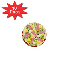 Pizza Clip Art 1  Mini Buttons (10 Pack)