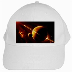 Planets Space White Cap