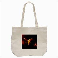 Planets Space Tote Bag (cream)
