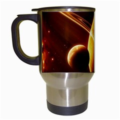 Planets Space Travel Mugs (white) by Sapixe