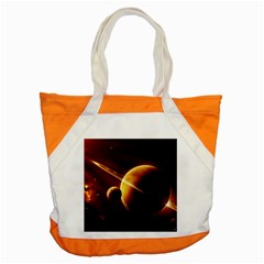 Planets Space Accent Tote Bag