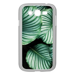 Tropical Florals Samsung Galaxy Grand Duos I9082 Case (white) by goljakoff